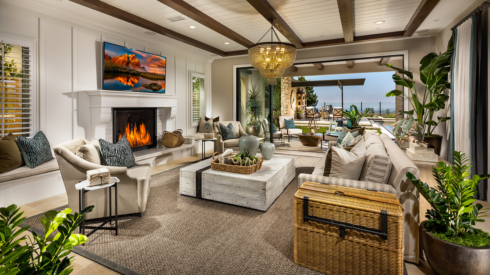 Luxurious open-concept home designs perfect for entertaining.