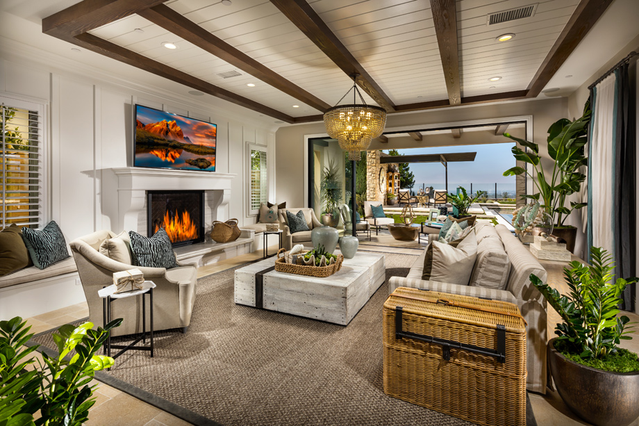 Luxurious Open Concept Home Designs Perfect For Entertaining  New Luxury Homes For Sale In San Diego CA Palomar At Pacific