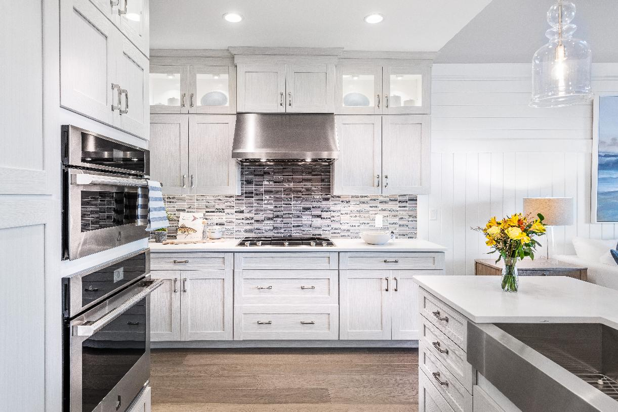 The Vaughn offers a well-equipped gourmet kitchen with direct access to the dining room and a center island that overlooks the great room