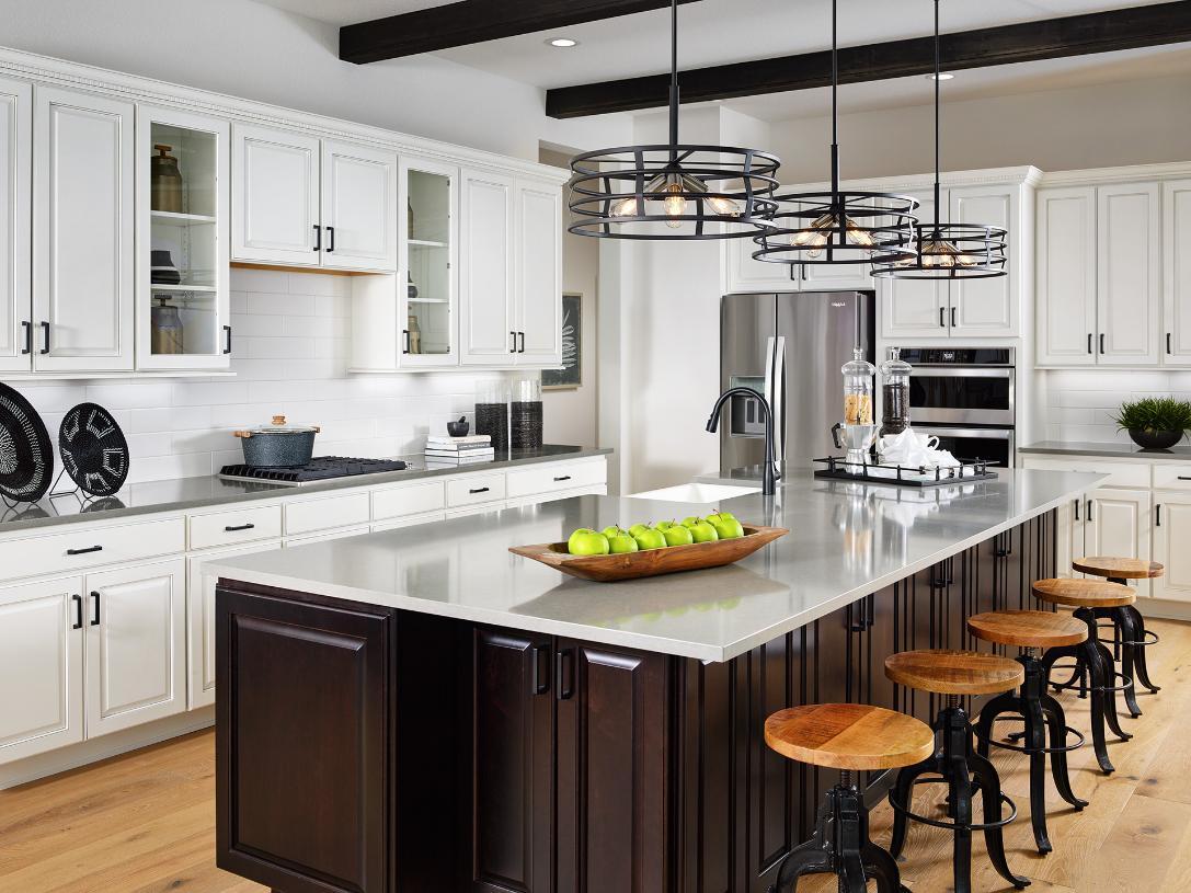 Sopris kitchen with grand center island