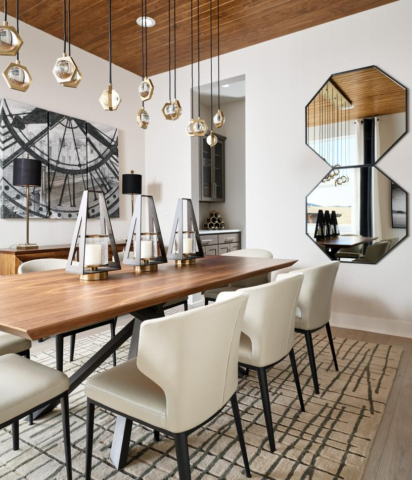 Pagosa formal dining room