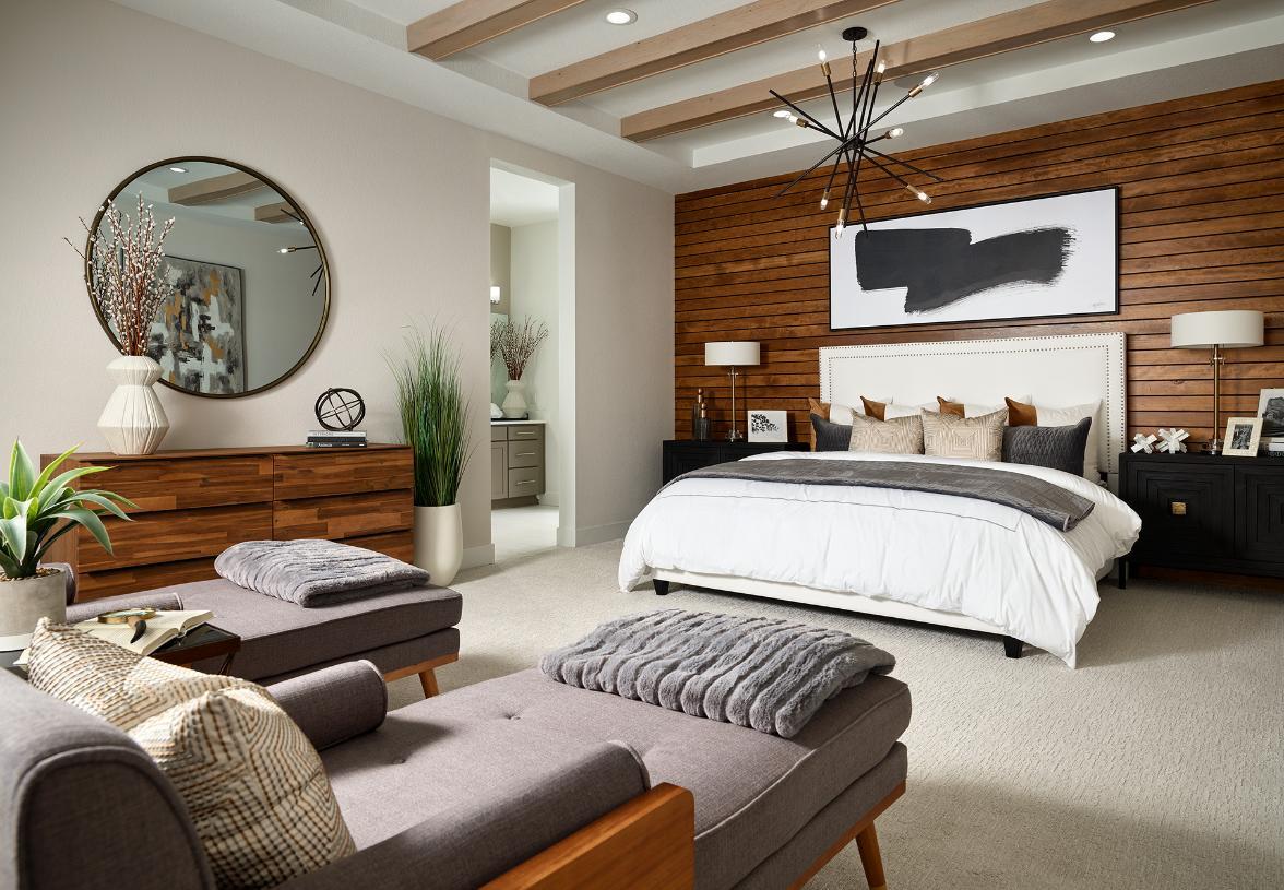 Pagosa serene primary bedroom