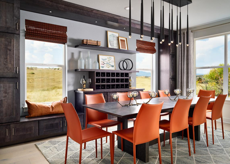 Ogden formal dining room with bright natural light