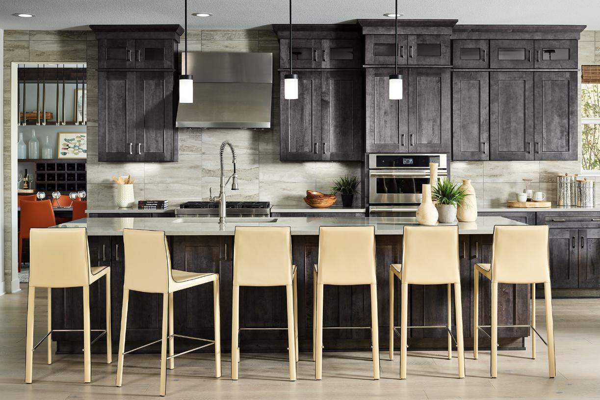 Ogden kitchen with spacious center island