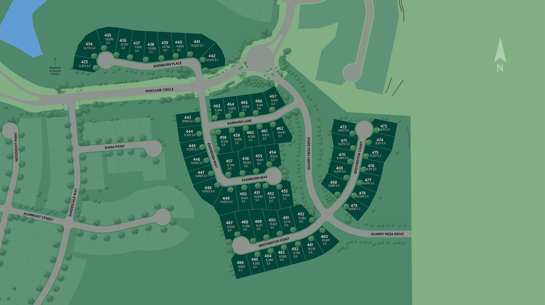 Montaine - Estate Collection Site Plan II