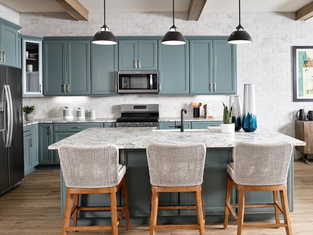Boyd kitchen with center island
