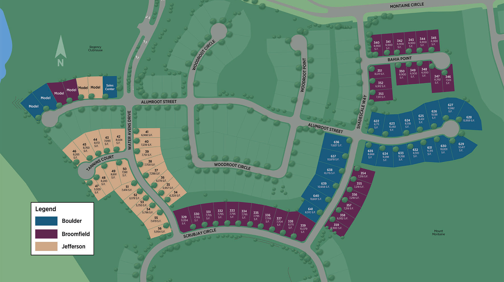 Regency at Montaine Site Plan II