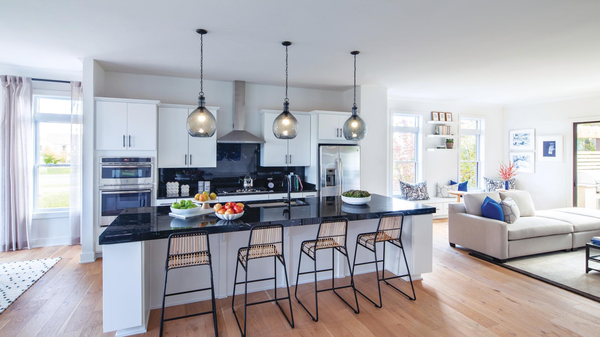 Luxury living and open floor plans