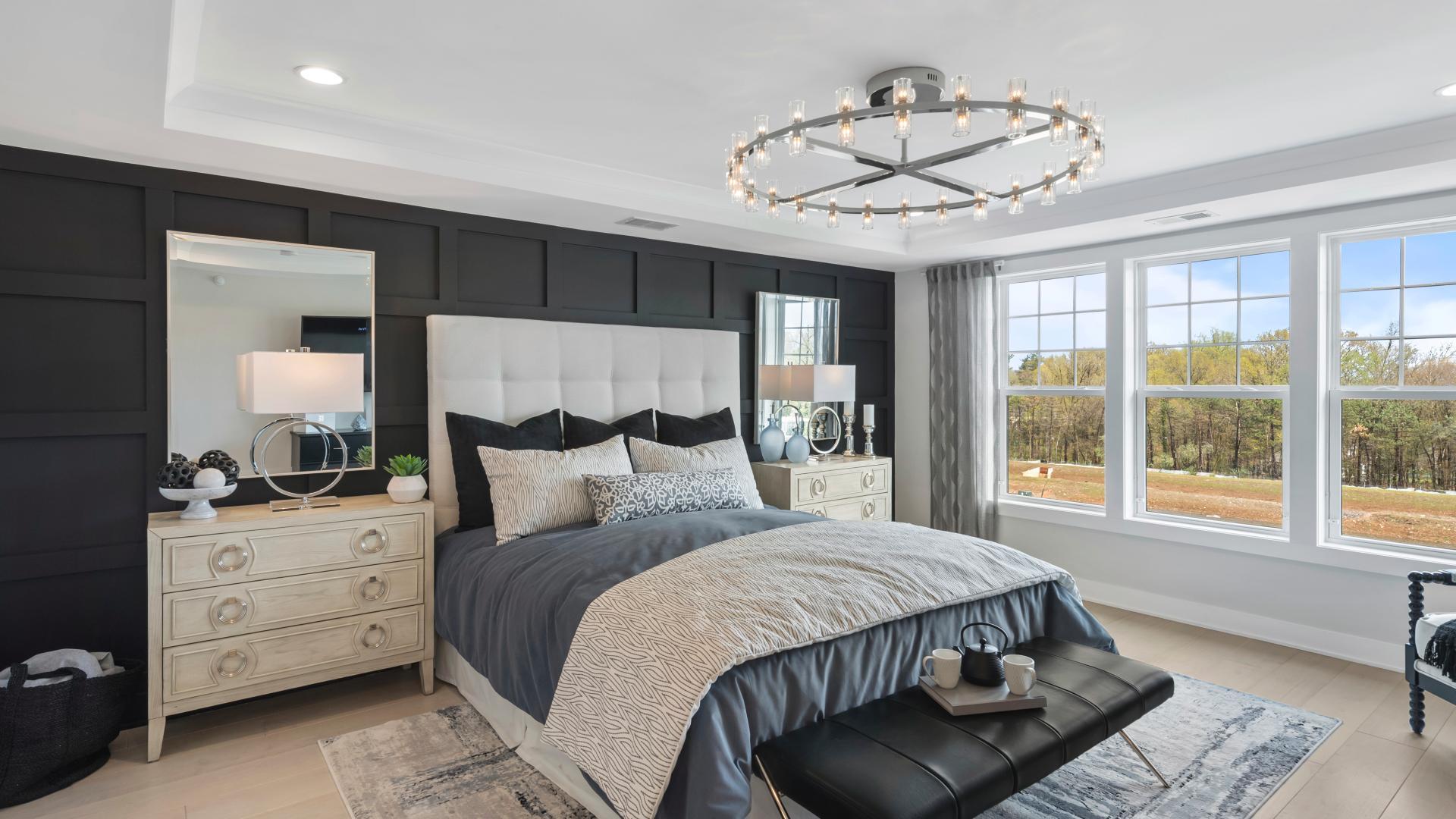 Luxury primary bedroom suite designs