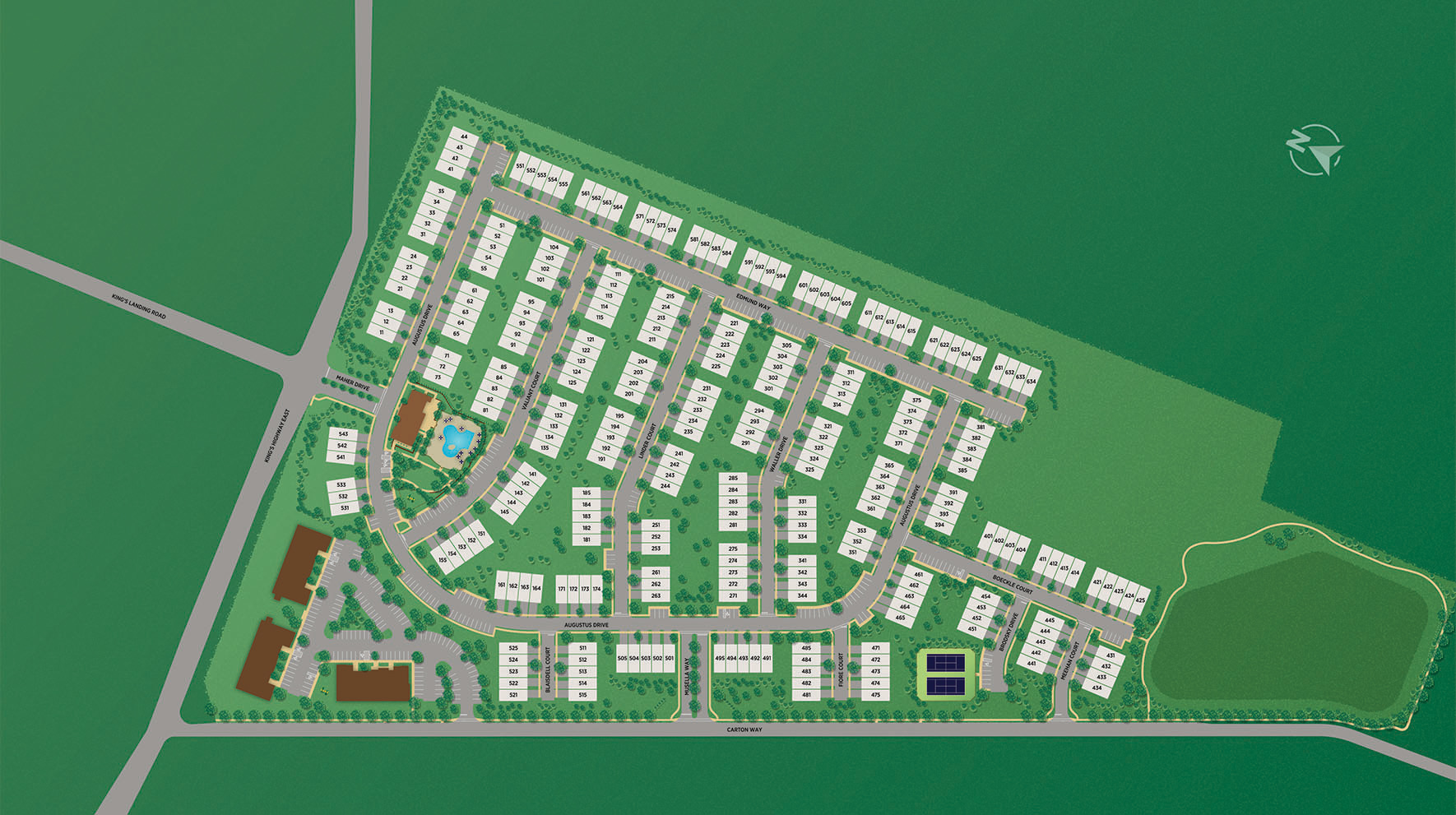 Middletown Walk Overall Site Plan