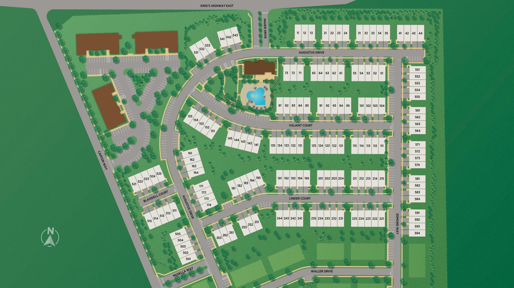 Middletown Walk Site Plan