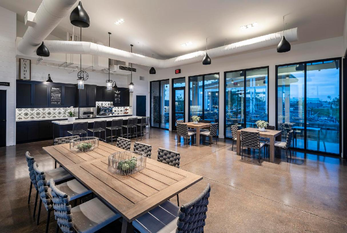Beautiful community clubhouse for entertaining