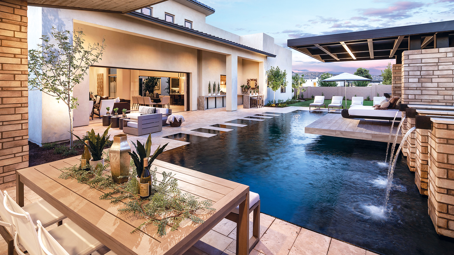 Stunning extended covered patios for outdoor living and entertaining