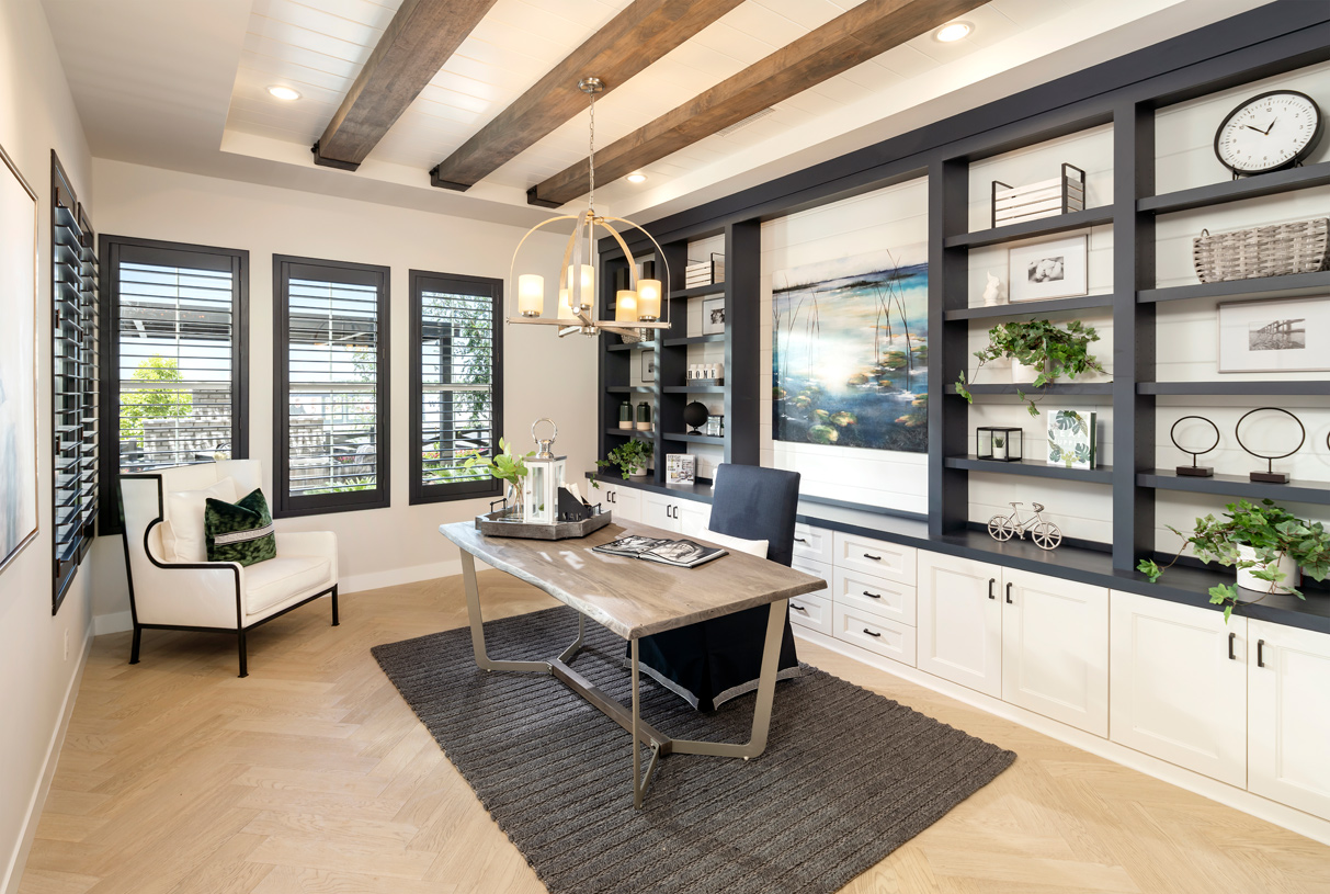 Versatile home office space to situate your needs