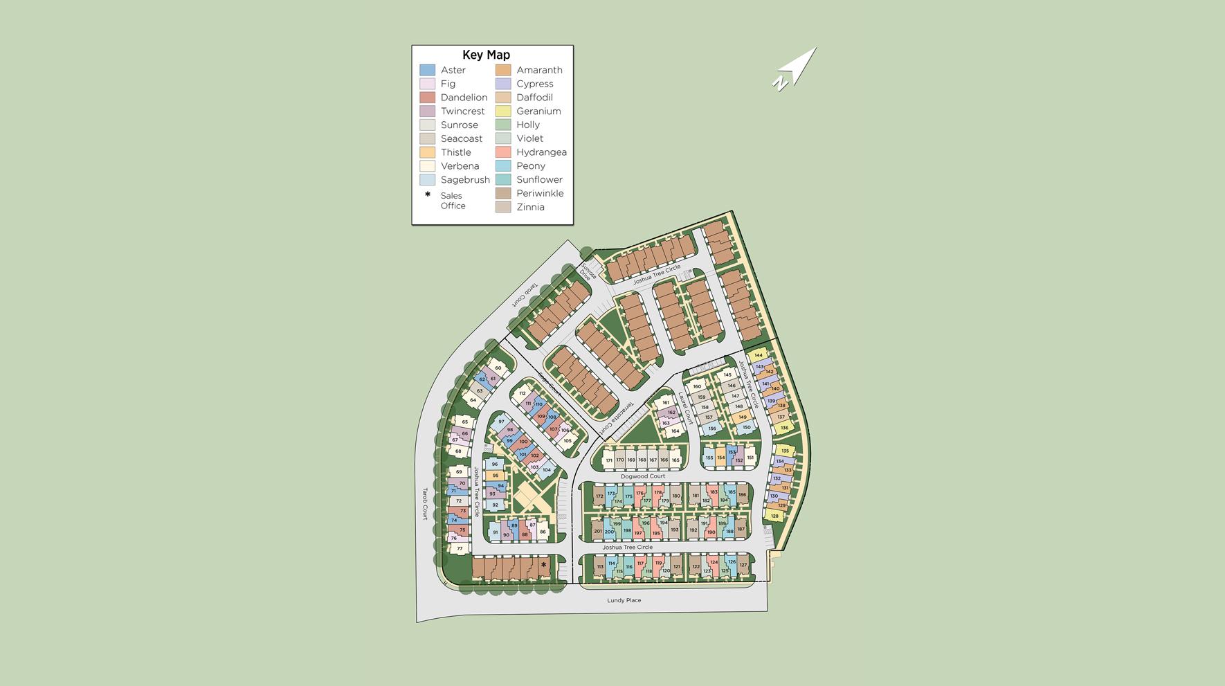 Parkside at Tarob Court Site Plan
