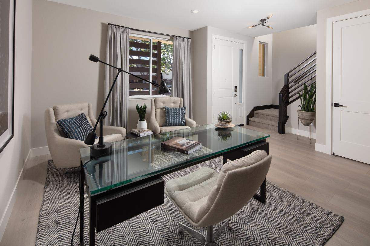 Entryway office or flex space