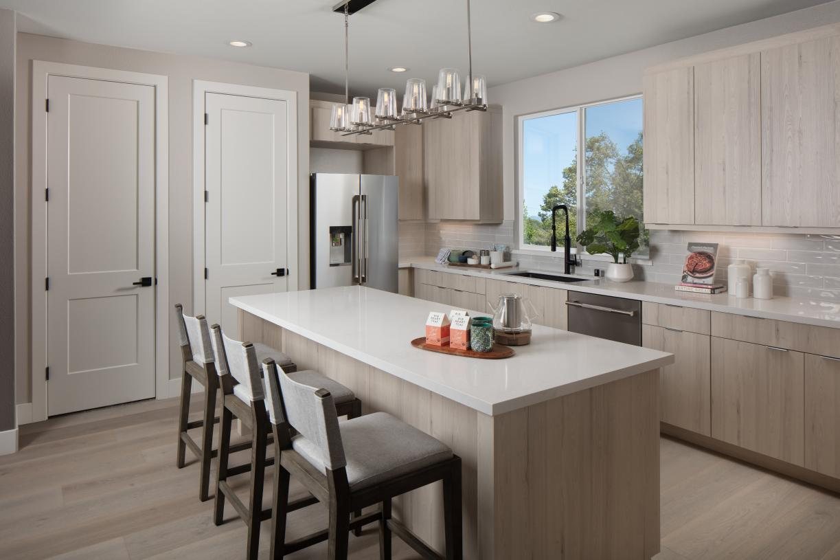 Kitchen with storage and pantry