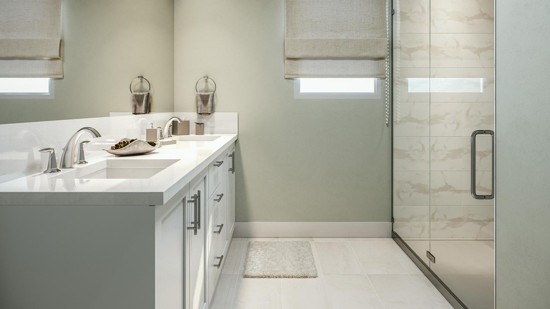 Verbena floor plan primary bath