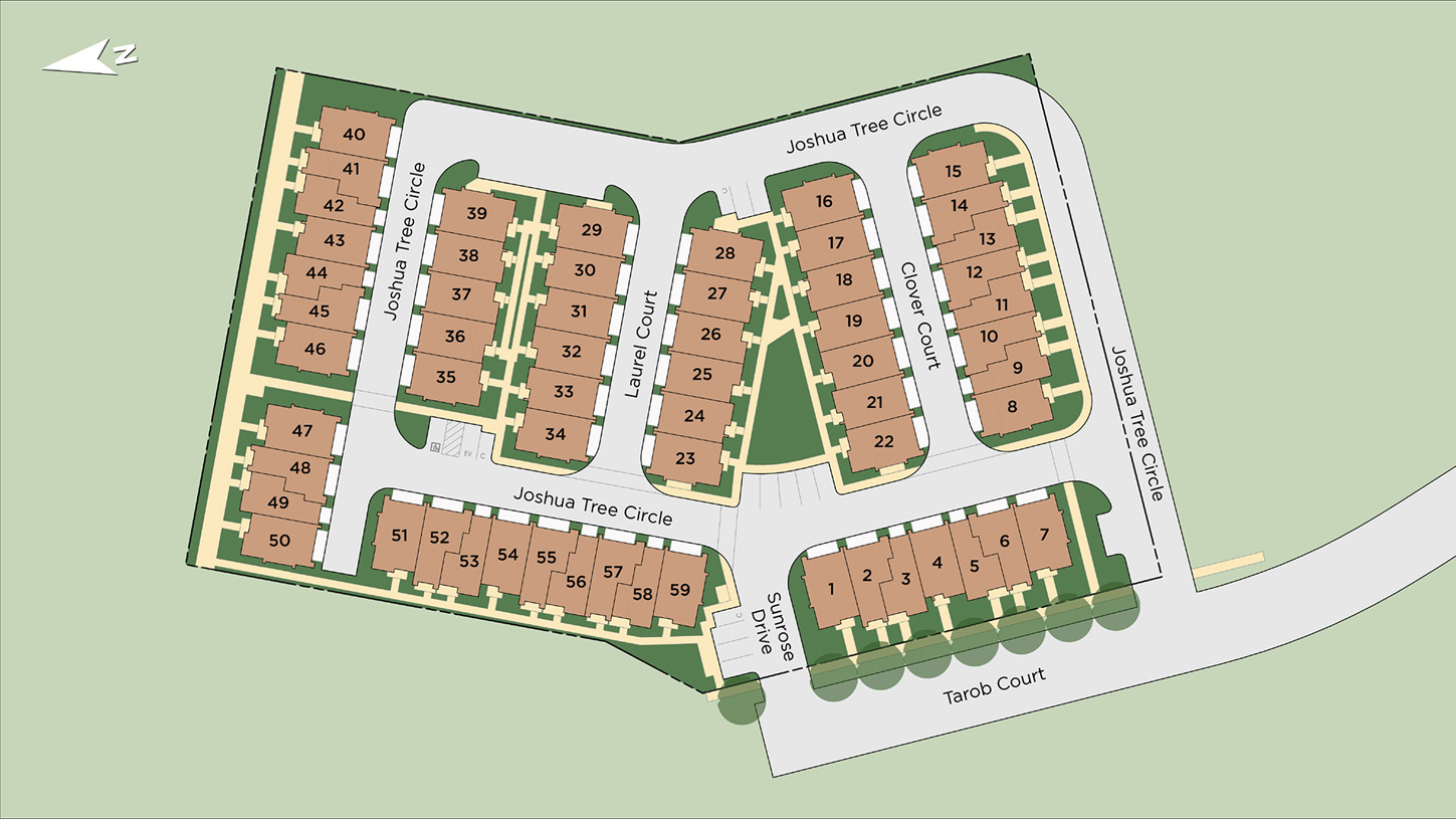 Parkside at Tarob Court Overall Site Plan