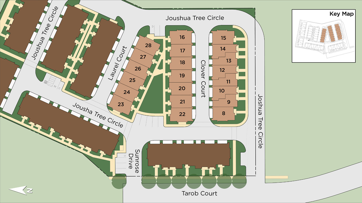 Parkside at Tarob Court Phase I Site Plan