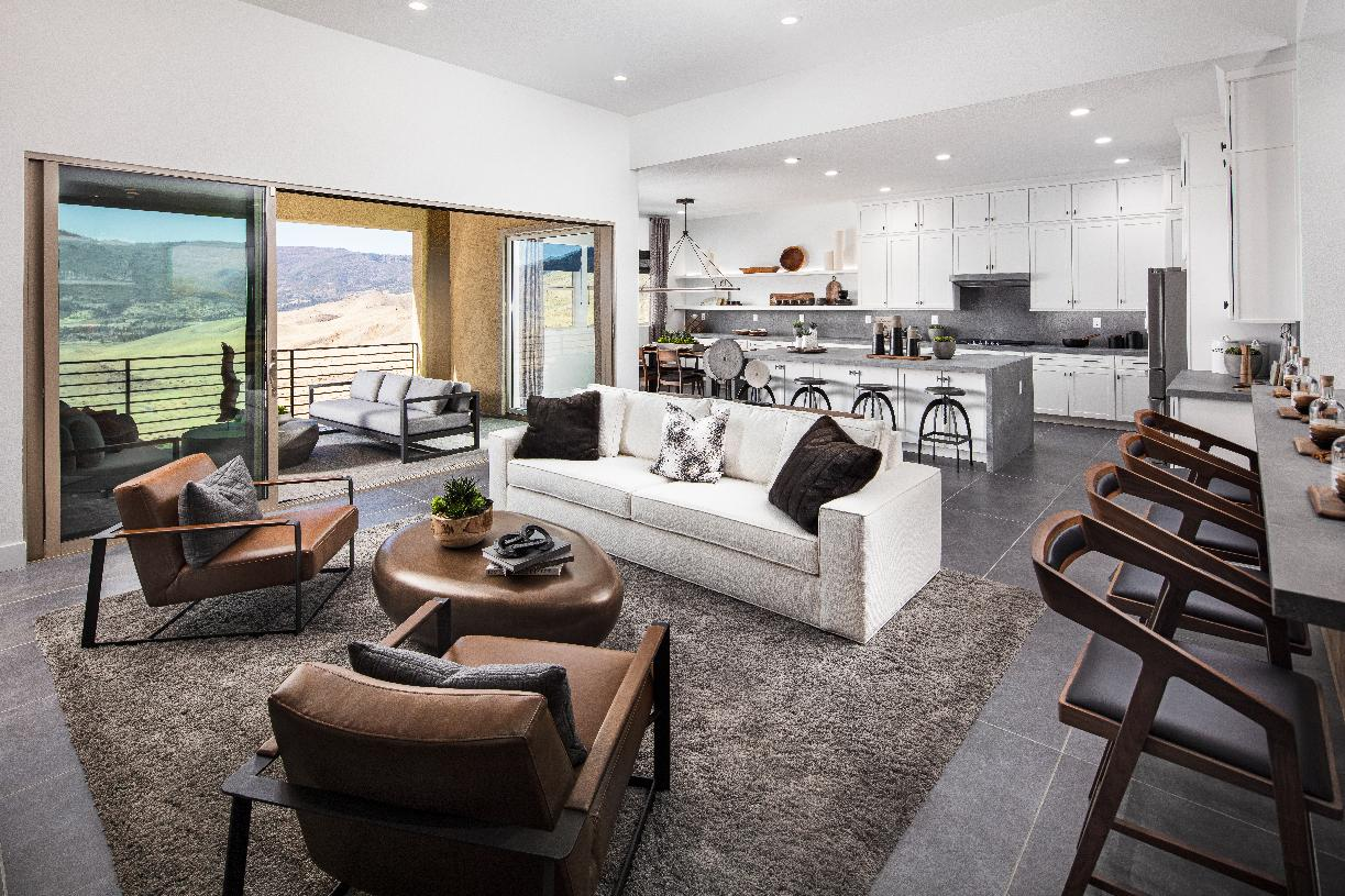 Everest Elite living room and kitchen