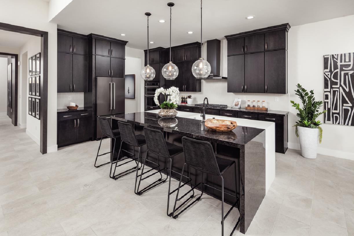 Viewmont gourmet kitchen