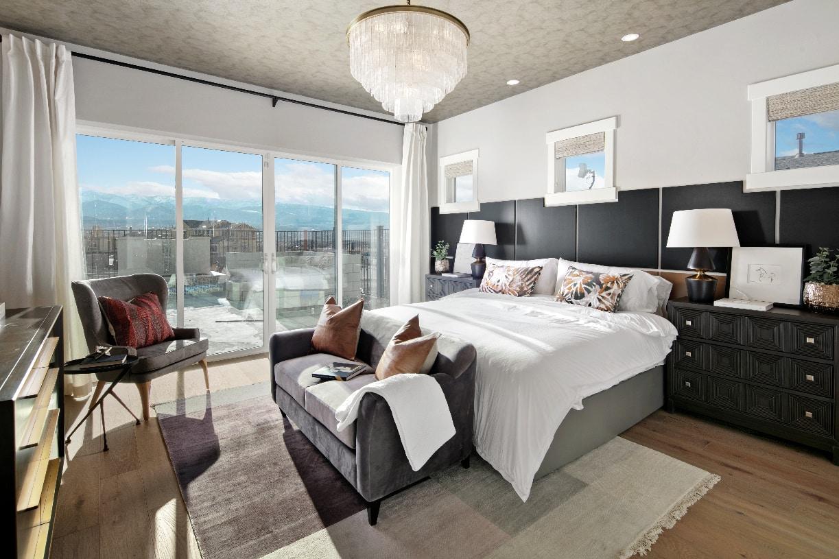 Addison primary bedroom suite