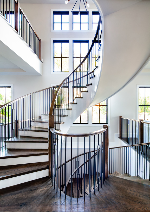 Woodberry Spiral Staircase