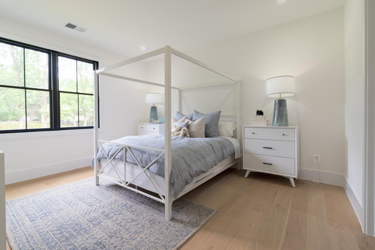 Bedroom 2 with walk-in closet and private bath