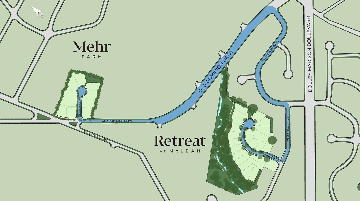 Retreat at McLean & Mehr Farm Overall Site Plan