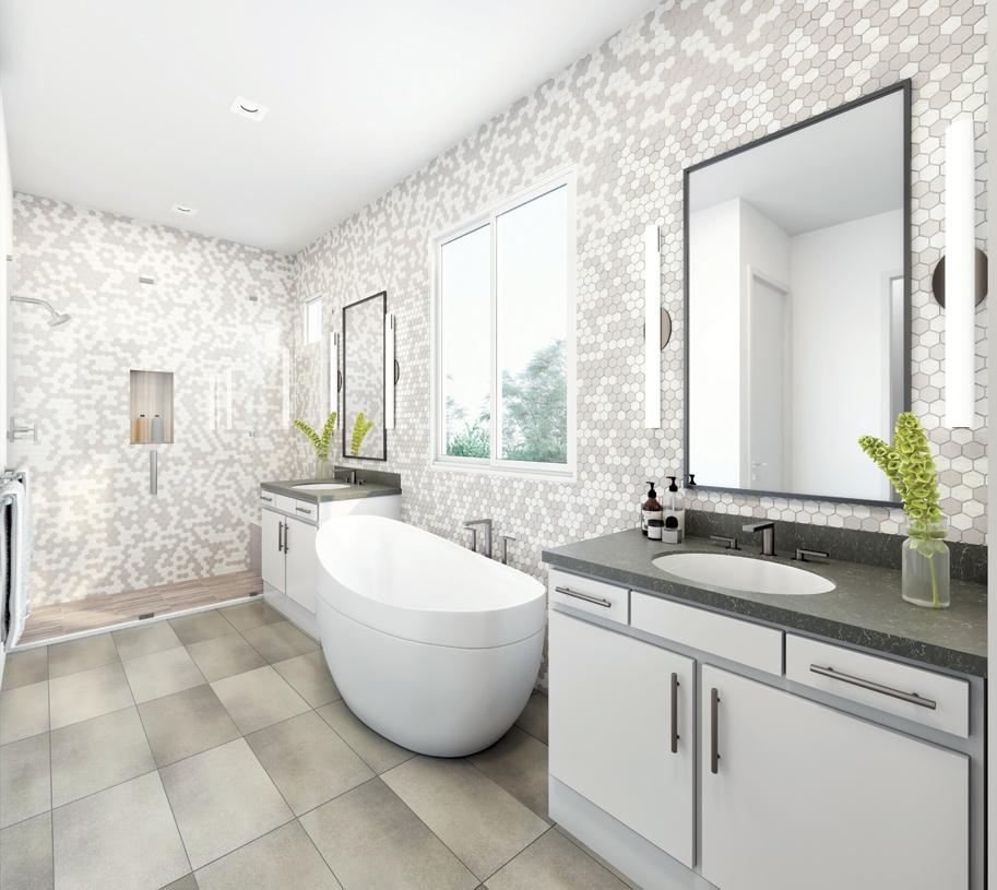 Moderna primary bath