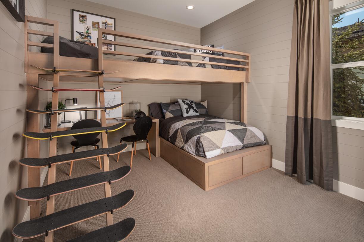 Orinda secondary bedroom