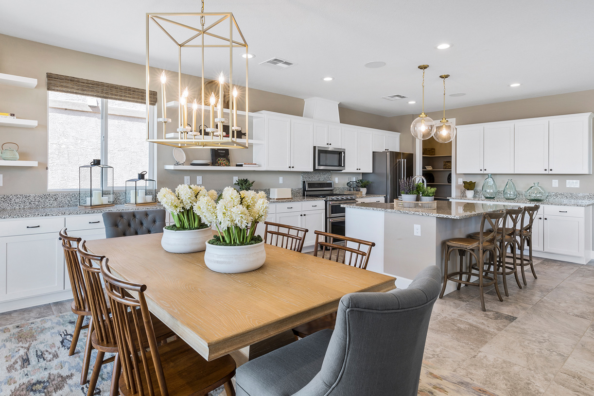 Salida kitchen and dining room