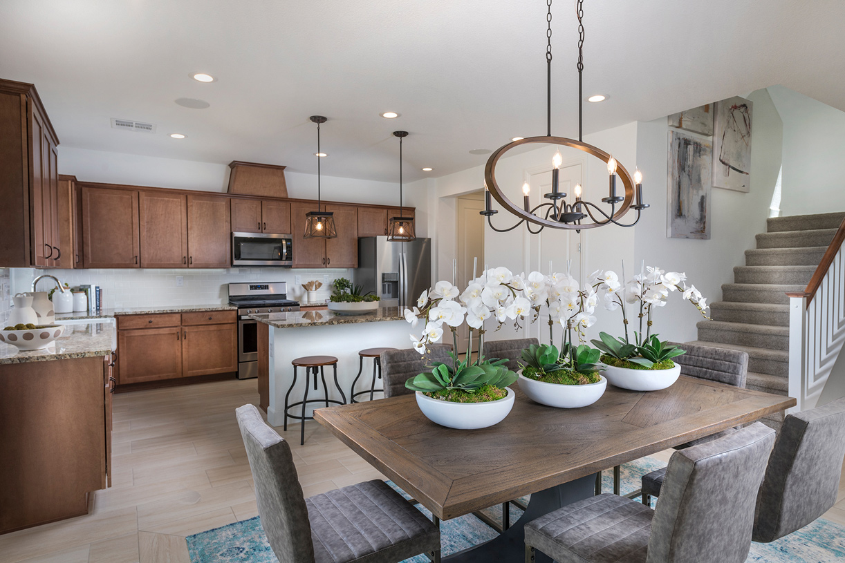 Madrona kitchen and dining room