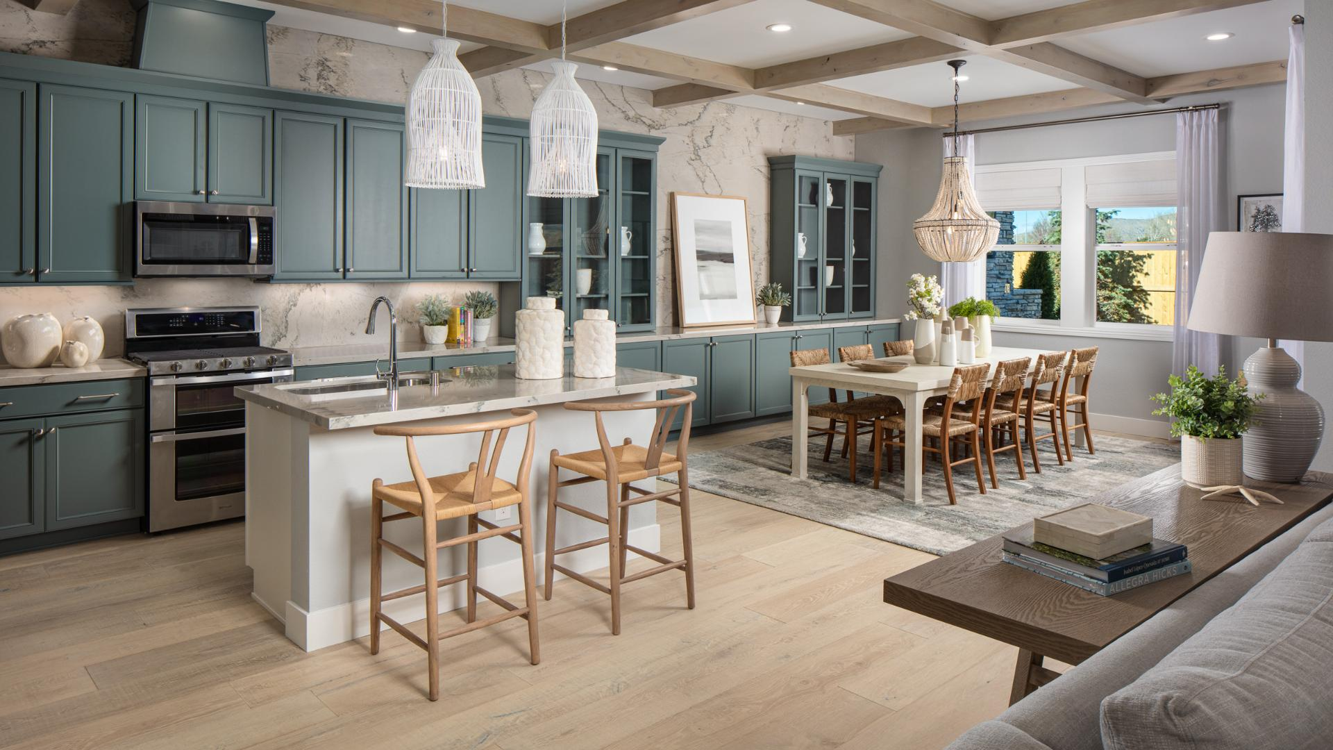 Rivero kitchen and dining room