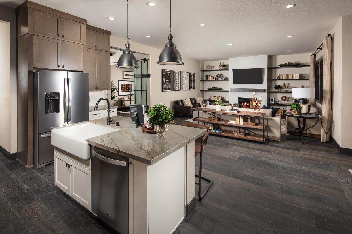 Glenrosa kitchen