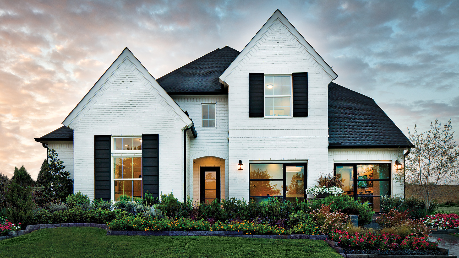 The Longview Classic, one of many luxurious home designs which will be available soon in Frisco Springs.