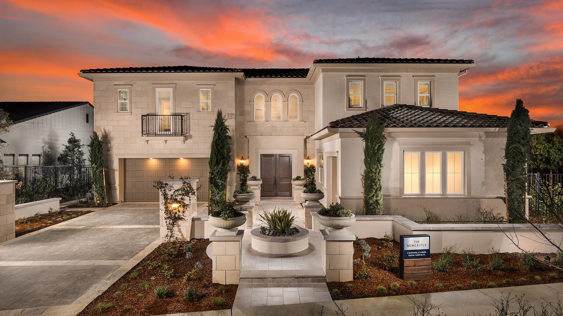 New Luxury Homes For In Rocklin Ca Oakcrest
