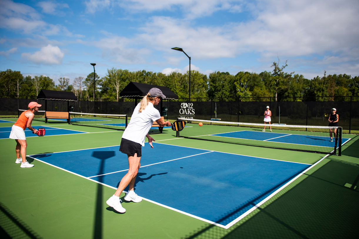 Pickleball courts for all to enjoy
