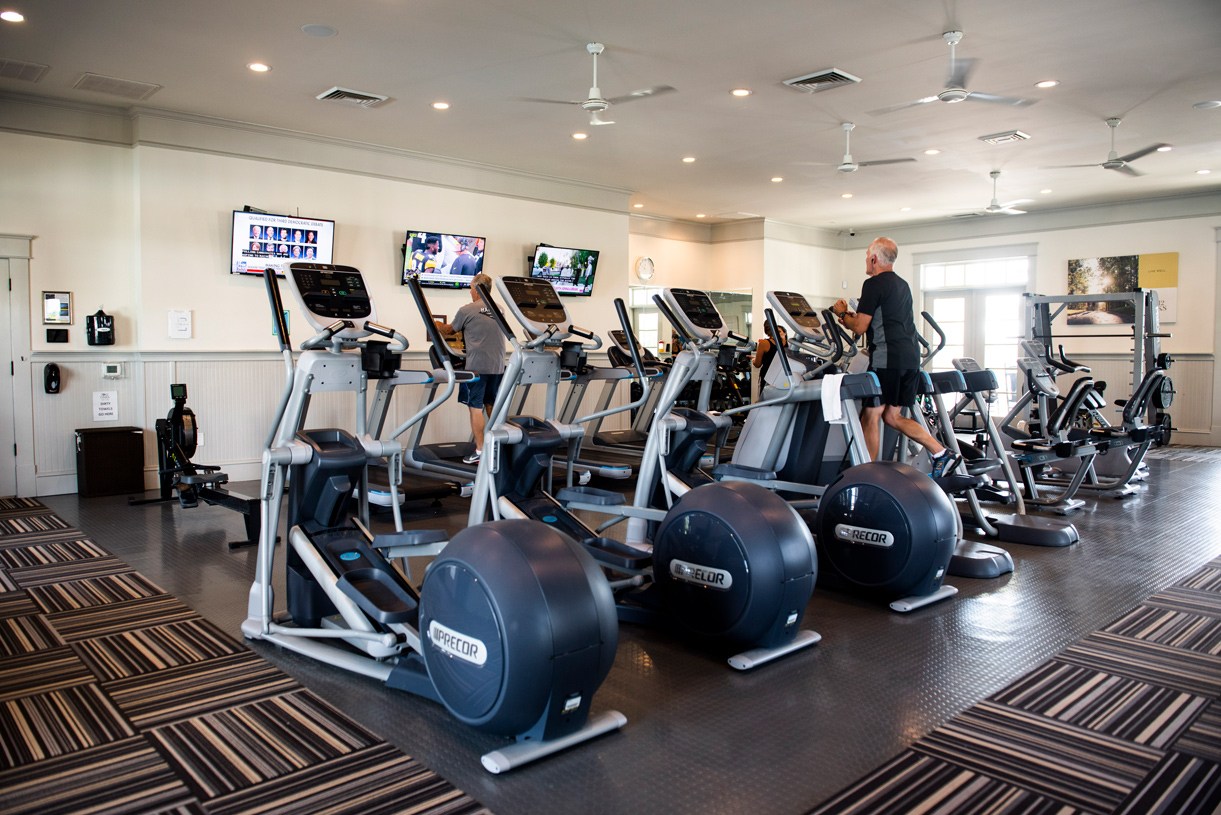 State-of-the-art fitness center available for all residents
