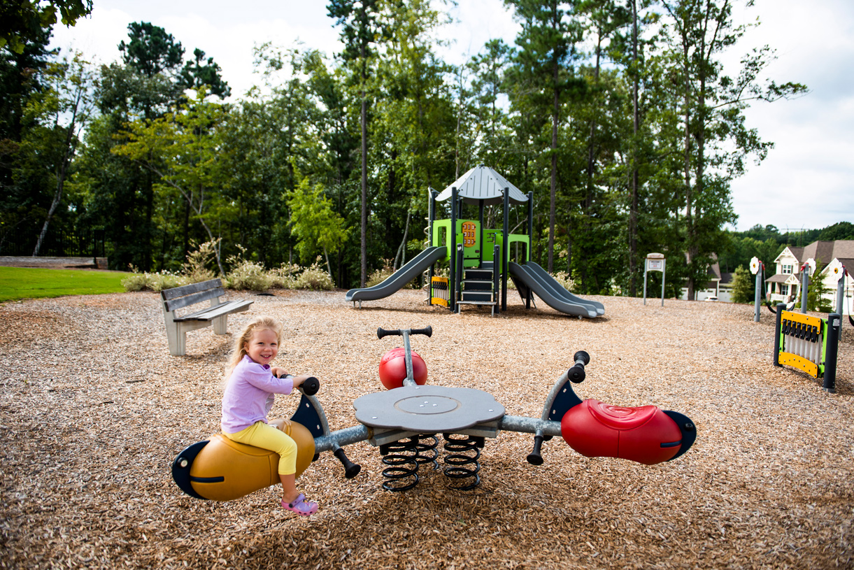 12 Oaks playground within walking distance