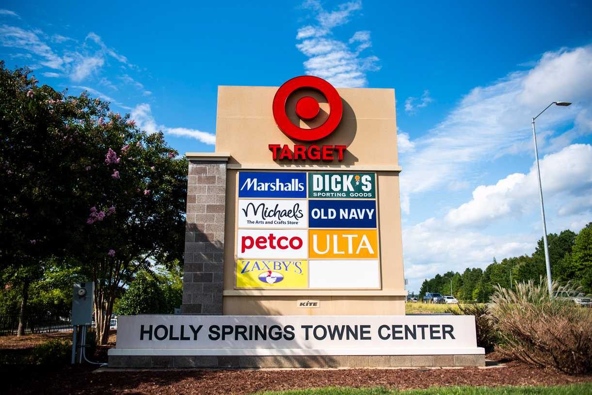 Everything you need is nearby in Holly Springs Towne Commons