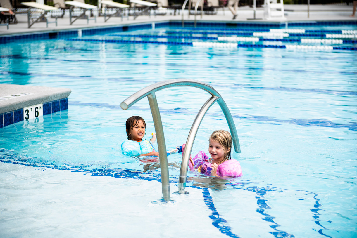 Enjoy fun for the entire family at your community pool