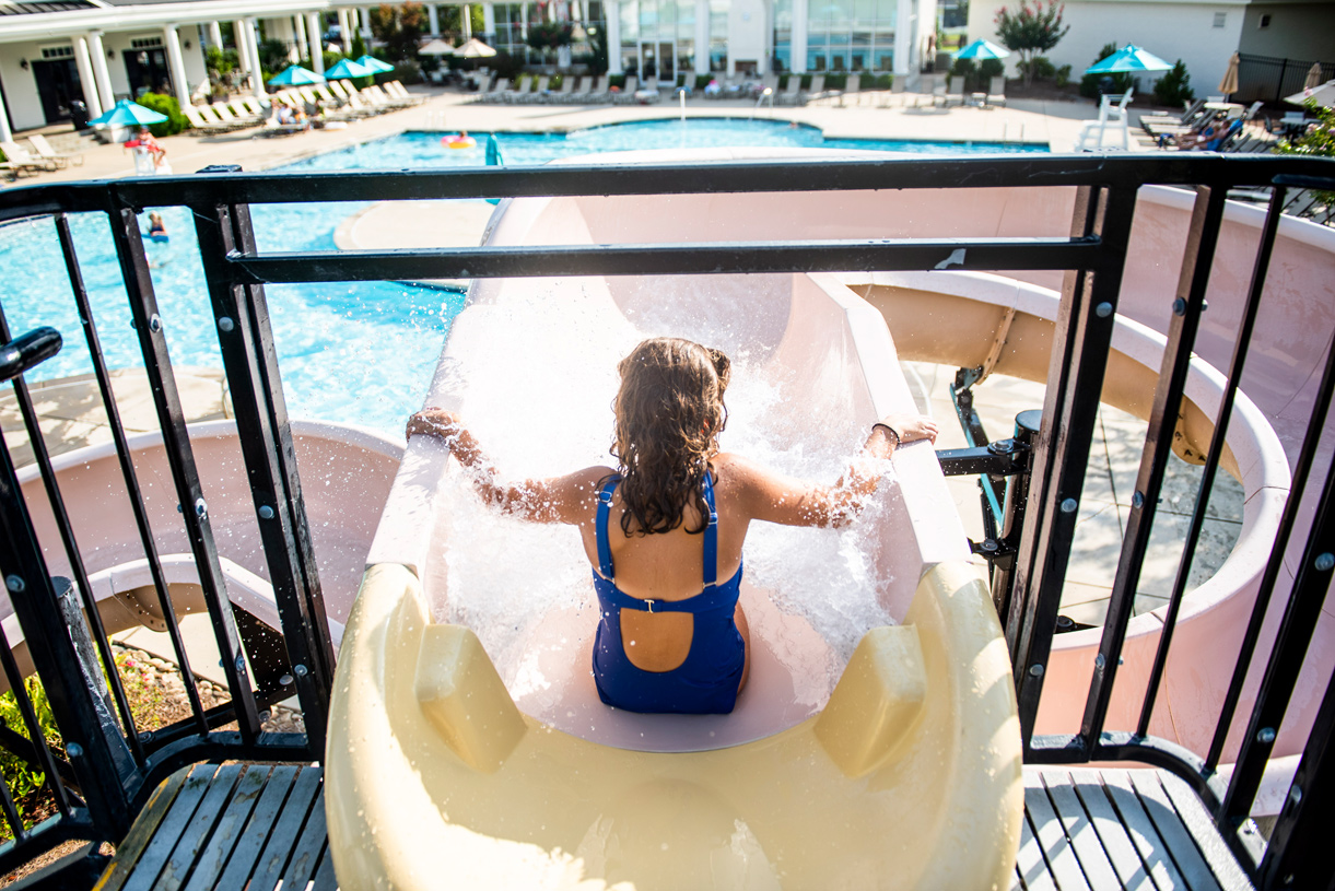 Soak in the sun at one of 3 community pools