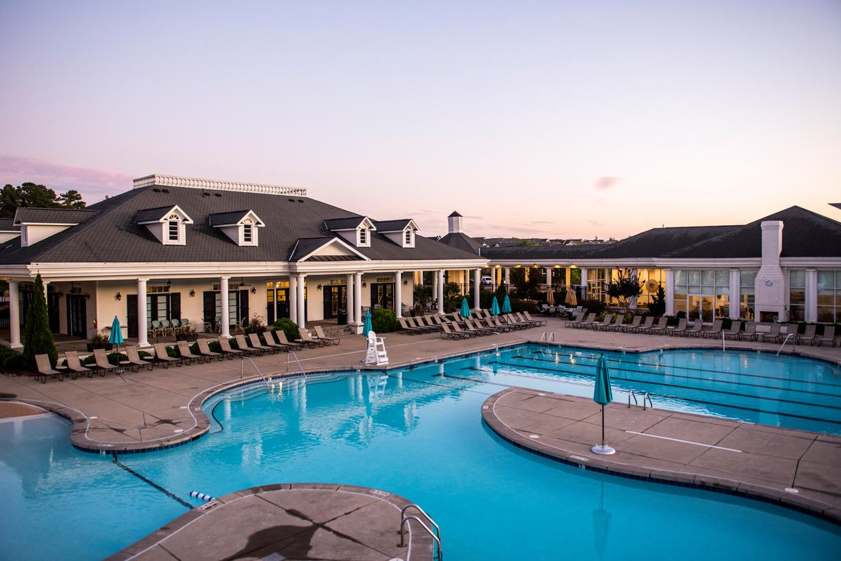 Enjoy access to three community pools