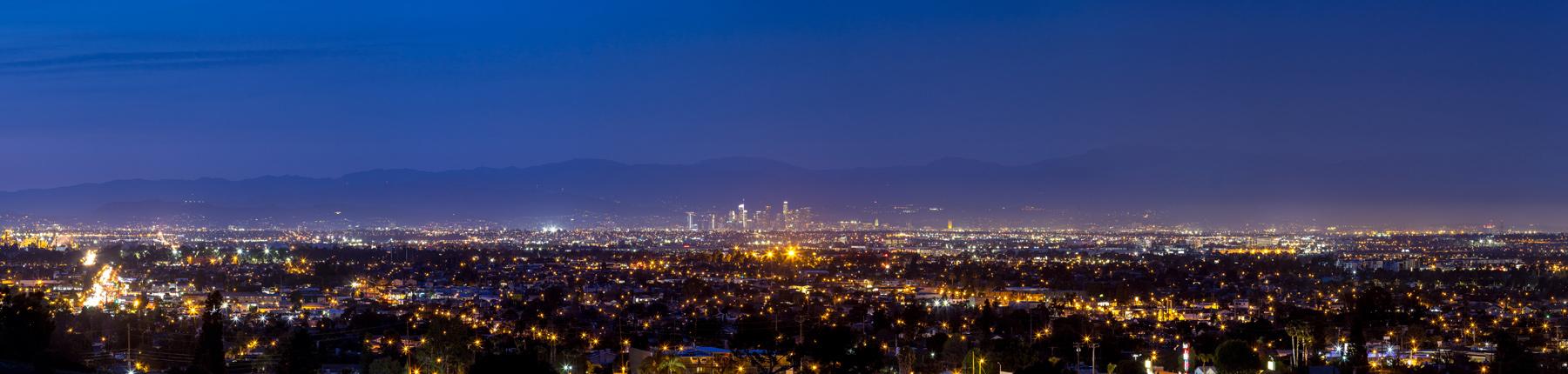Views of Downtown LA