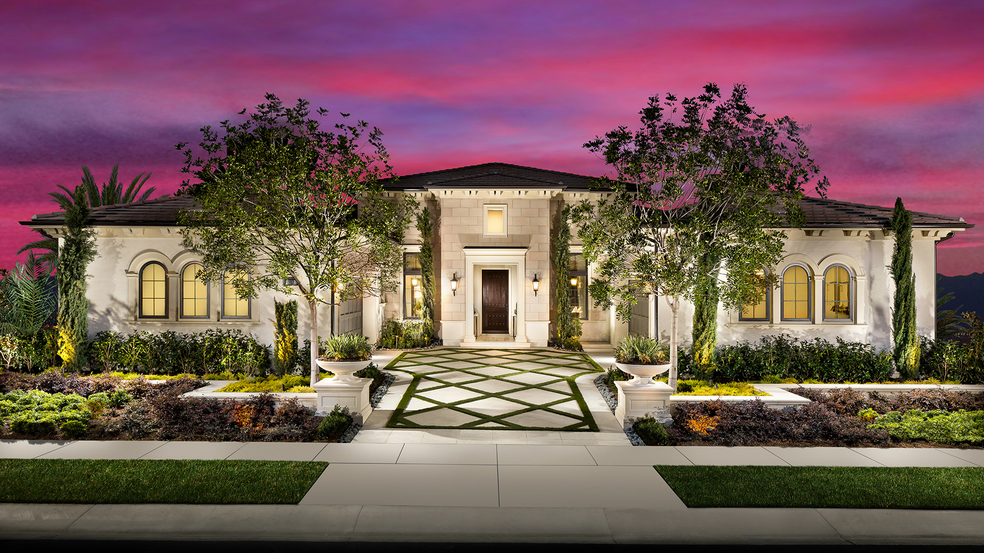 Estancia at yorba linda offers three single story home designs to choose from