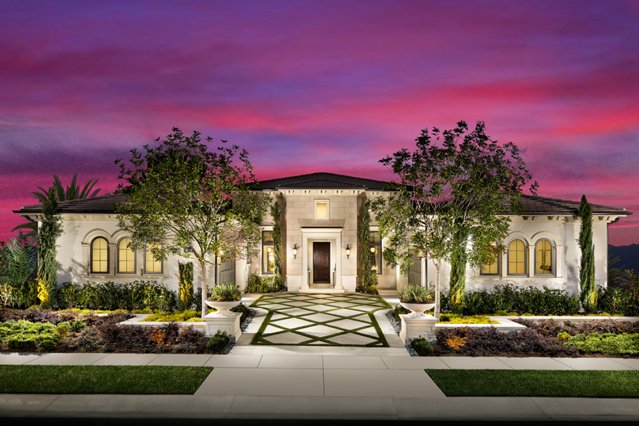 Front Elevation Of Luxury Homes : California homes for sale new home communities toll