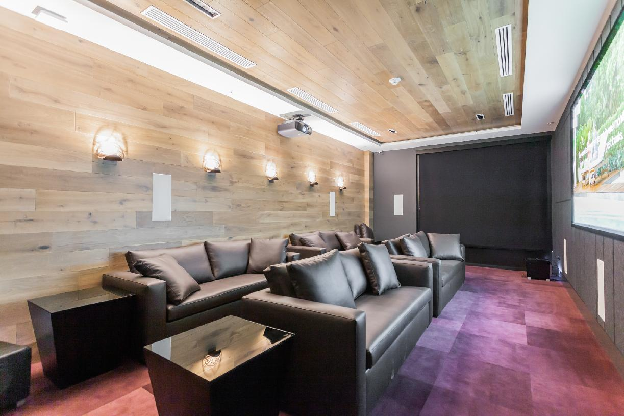 Theater room for movies and streaming