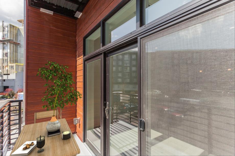 Representative photo: Private balcony off the great room